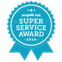 Super Service Award 2014 - Angie's List